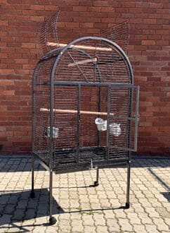 215 Parrot cage econo and DNA front