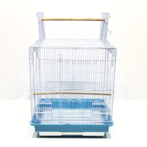 Bird Cage - Square Flat Open-Top