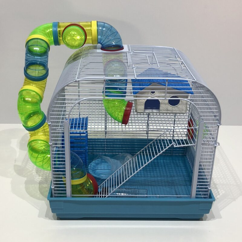 Hamster Cage - Window and Funky Tubes
