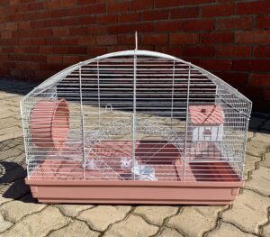 Round Deluxe Hamster Cage