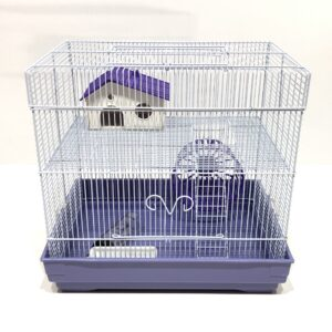 Square Hamster Cage
