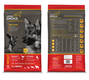 Lionel's Choice Adult Dog Food 20kg