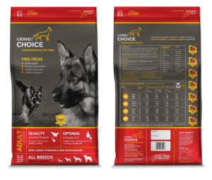 Lionel's Choice Adult Dog Food 2.5kg