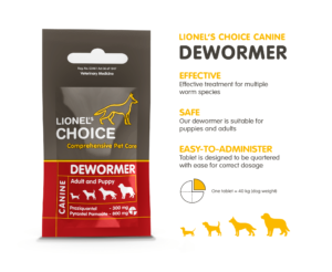 Lionel's Choice Dewormer tablet - each