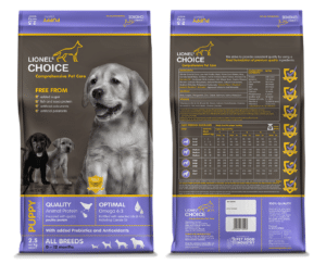 Puppy Food (2.5kg) - Lionel's Choice
