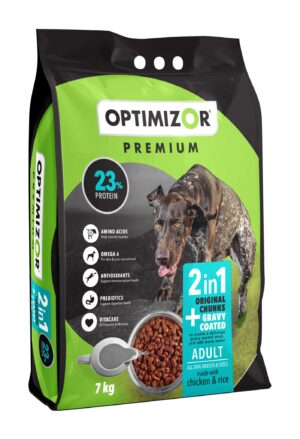 Optimizor Premium Adult 2-in-1 Gravy Coated 7kg