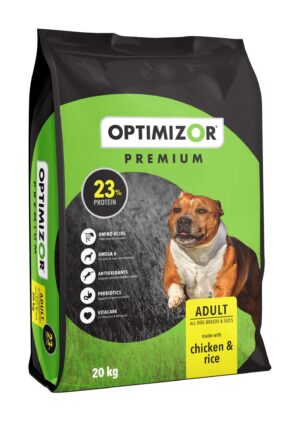 Optimizor Premium Adult Chicken and Rice 20kg