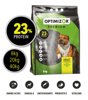 Optimizor Premium Adult Chicken and Rice 40kg