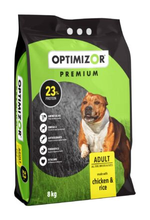 Optimizor Premium Adult Chicken and Rice 8kg