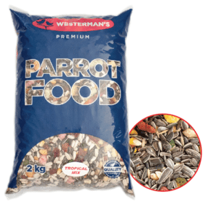 5kg Tropical Parrot Food Value Tub
