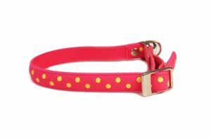 Non Toxic PVC Cat Collar Little Polkadot Pink
