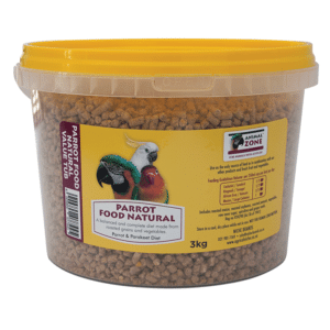 Parrot Food Natural Tub