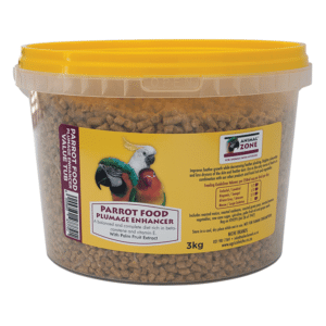 Parrot Food Plumage Enhancer Tub