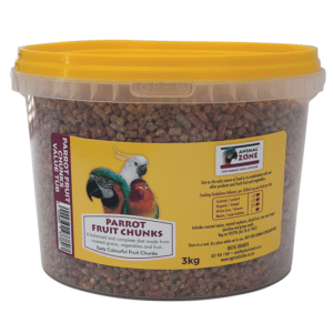 Parrot Fruit Chunks Tub