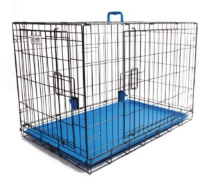 Coloured Wire Crate – Blue